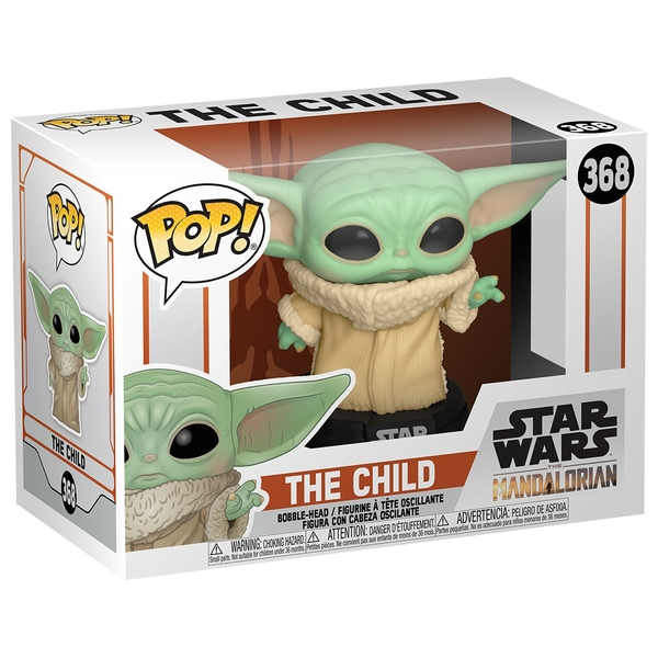 "POP! Vinyl Star Wars: The Mandalorian - The Child ""Baby Yoda"" Collectible Figure"
