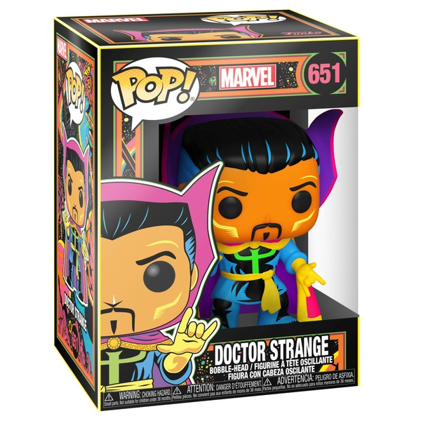 POP! Vinyl: Marvel Blacklight Dr Strange Figure