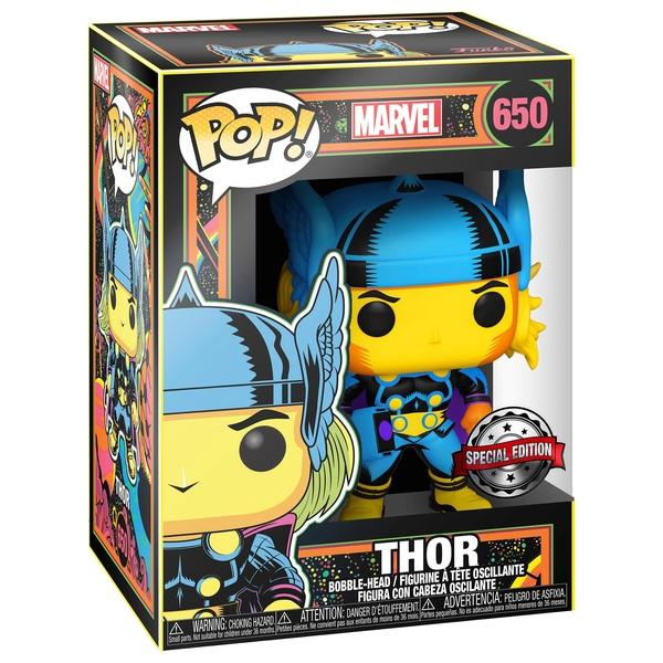 POP Vinyl: Marvel Blacklight Thor Figure