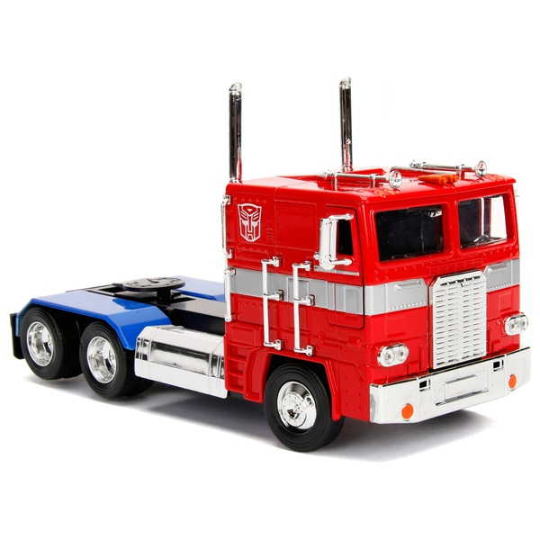 Transformers 1:24 Scale Autobot Optimus Prime Collectible Diecast Vehicle