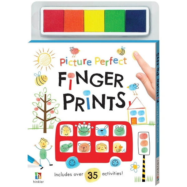 Picture Perfect Finger Prints Bus Book