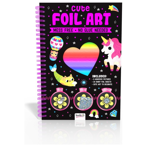 Cute Foil Art Book