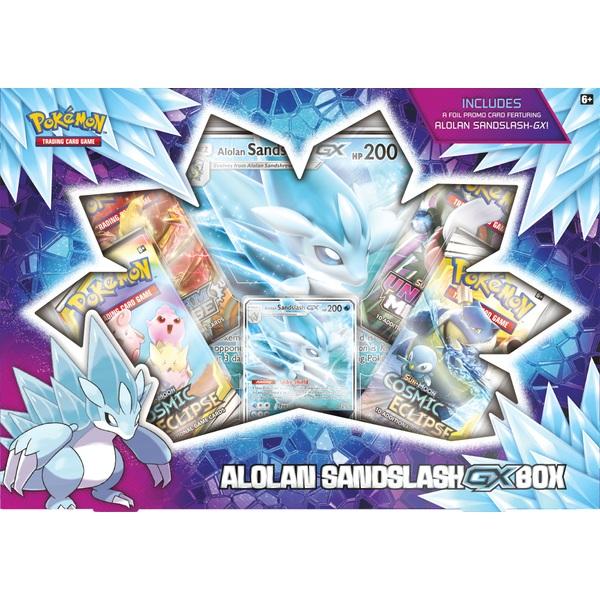 Pokemon Trading Card Game GX Box Alolan Sandslash