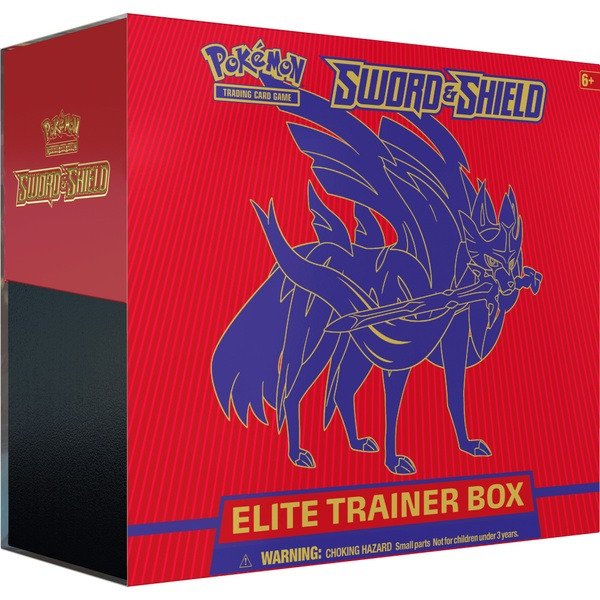 Pokémon Sword & Shield Elite Trainer Trading Card Game Assortment