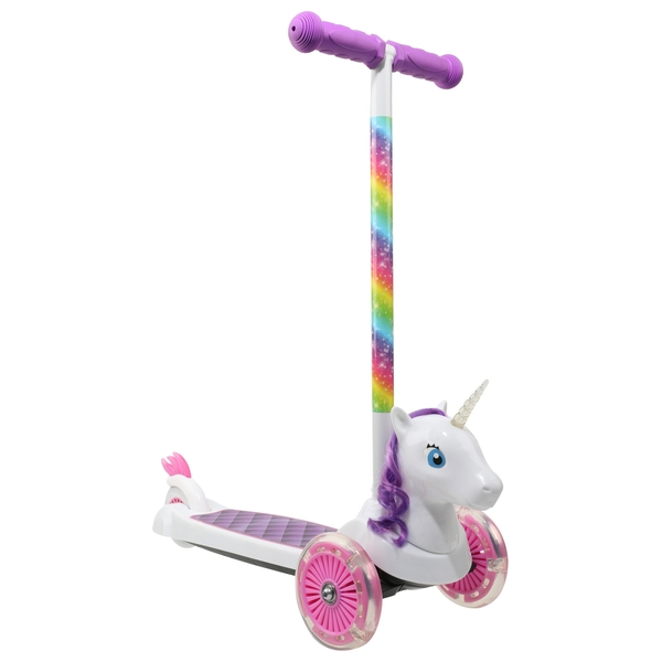 Lights and Sound Unicorn Scooter