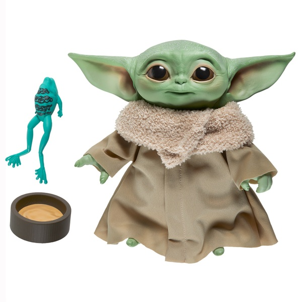 """Star Wars Mandalorian The Child """"Baby Yoda"""" Talking Plush Toy - Collectible Action Figure"""