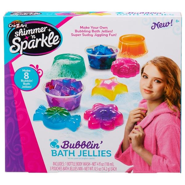 CraZArt Shimmer 'n Sparkle Bubblin Bath Jellies