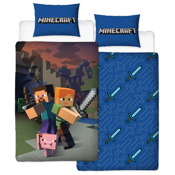 Minecraft Goodguys Single Duvet, What Size Is A Single Bed Cover