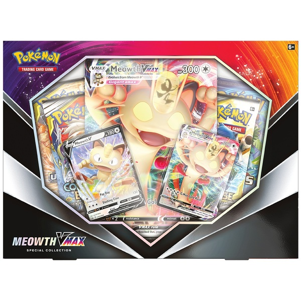Pokémon Trading Card Game: Meowth VMAX Special Collection