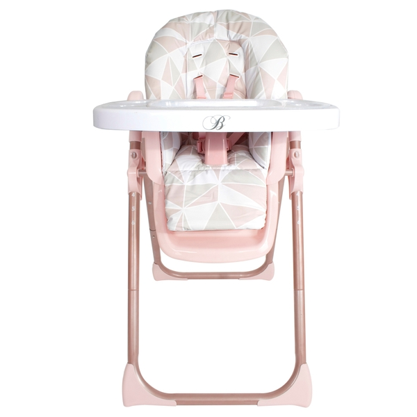 My Babiie Billie Faiers Premium Highchair in Rose Gold