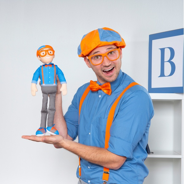 My Buddy Blippi 40cm Talking Doll