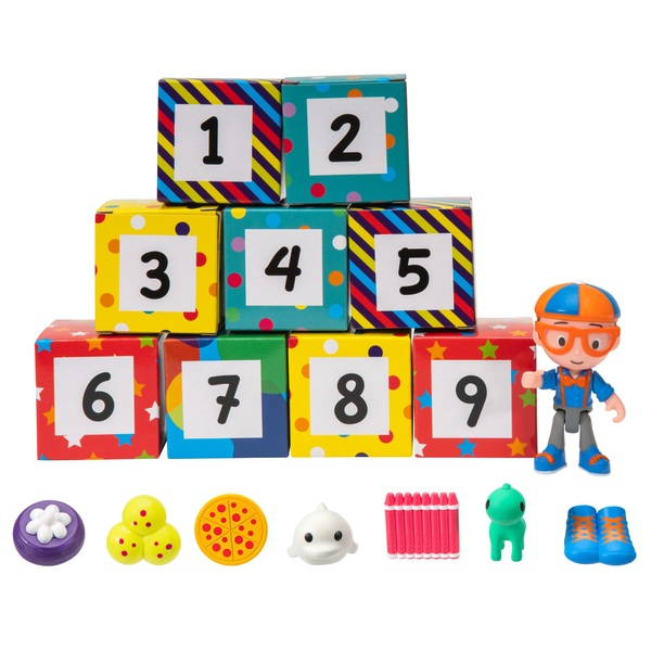 Blippi Surprise Boxes Assortment - Learning Numbers & Colours