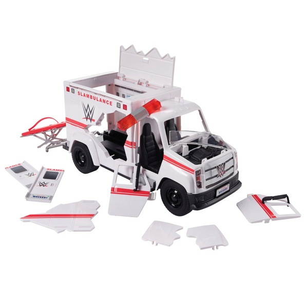 WWE Wrekkin Slambulance Vehicle