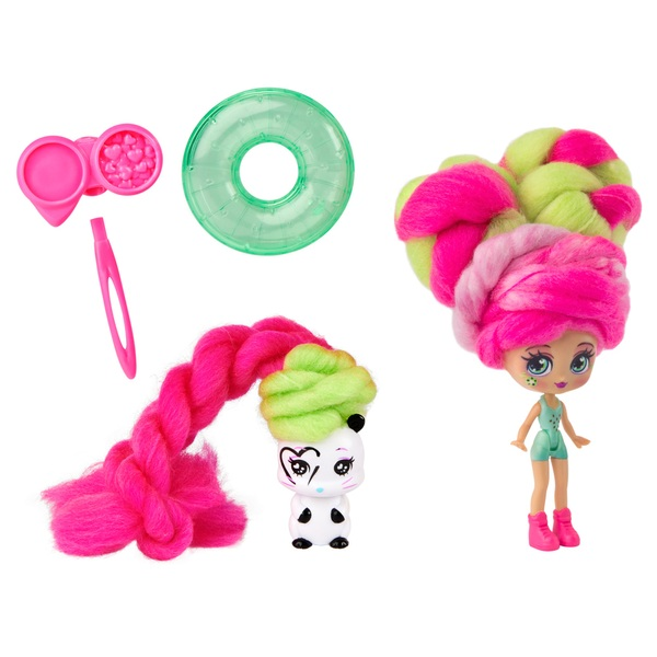 Candylocks Kiwi Kimmi 7.5cm Scented Collectible Doll and Pet