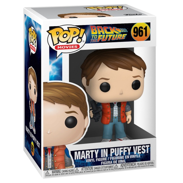 POP! Vinyl: Back to the Future Marty with Puffy Vest