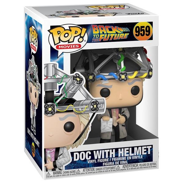 POP! Vinyl: Back to the Future Doc with Helmet