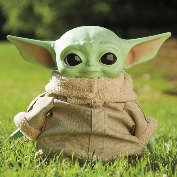 "Star Wars The Mandalorian - The Child ""Baby Yoda"" Plush Collectible Figure"