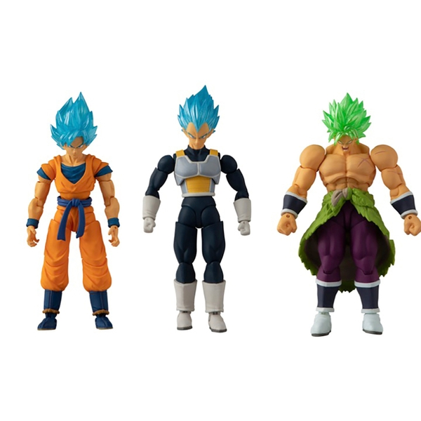 Triple Pack Dragon Ball Evolve 12.5cm Figures