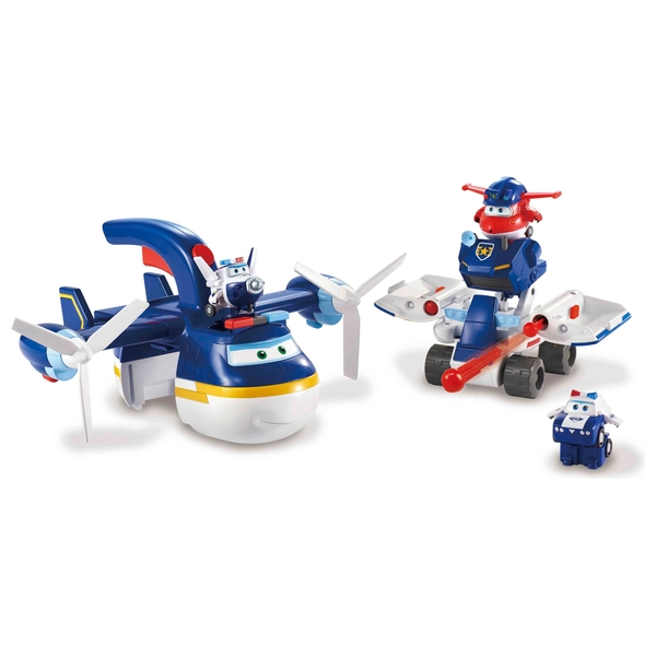 Super Wings 2-in-1 Police Patroller