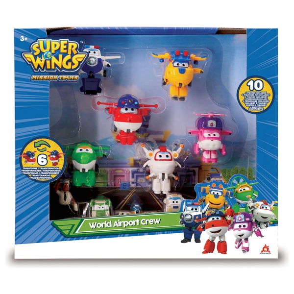 Super Wings World Airport Crew