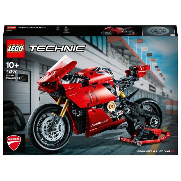 LEGO 42107 Technic Ducati Panigale V4 R Motorbike Model