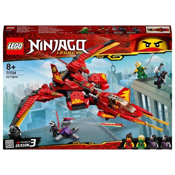 LEGO 71704 NINJAGO Legacy Kai Fighter Toy Jet