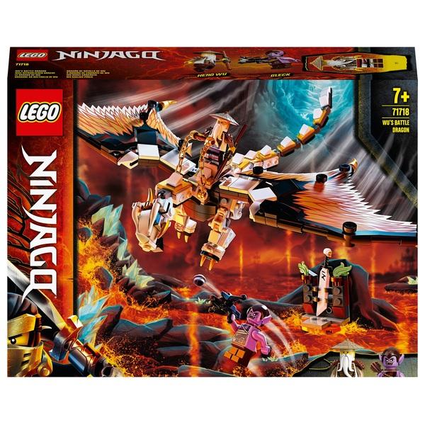 LEGO 71718 NINJAGO Wu's Battle Dragon Toy