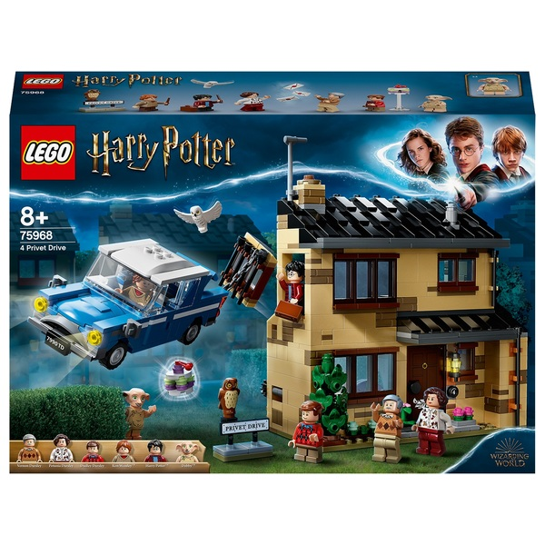 LEGO 75968 Harry Potter 4 Privet Drive Dursley Family House Set