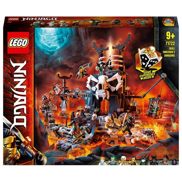 LEGO 71722 NINJAGO Skull Sorcerer's Dungeons Board Game Set
