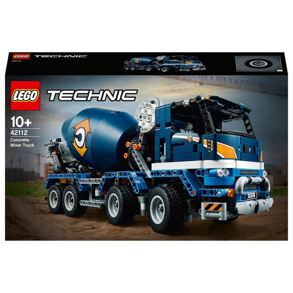 LEGO 42112 Technic Concrete Mixer Truck Toy Construction Set