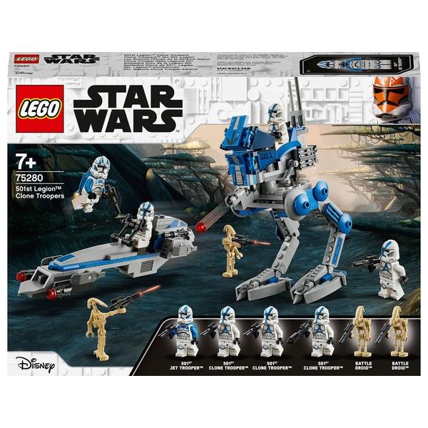 LEGO 75280 Star Wars 501st Legion Clone Troopers Set