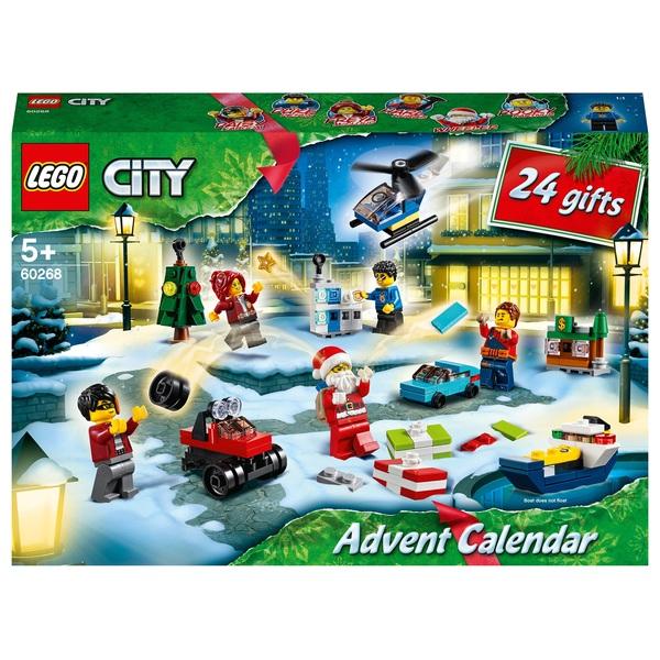LEGO 60268 City Advent Calendar 2020 Christmas Gift Set