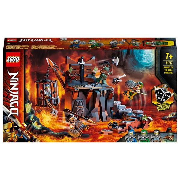 LEGO 71717 NINJAGO Journey to the Skull Dungeons Game Set