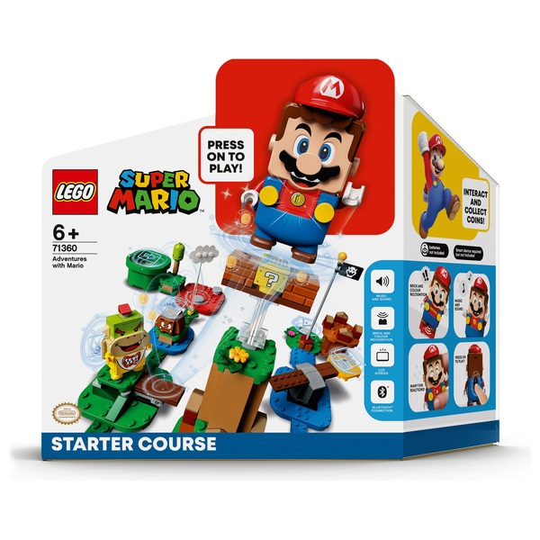 LEGO 71360 Super Mario Adventures with Mario Starter Course Toy Game