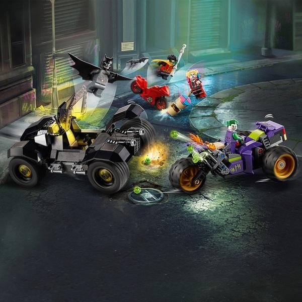 LEGO 76159 DC Batman Joker's Trike Chase Batmobile Toy ...