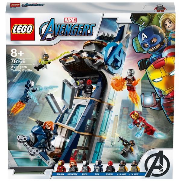 Lego 76166 Marvel Super Heroes Avengers Tower Battle Set Smyths Toys Ireland