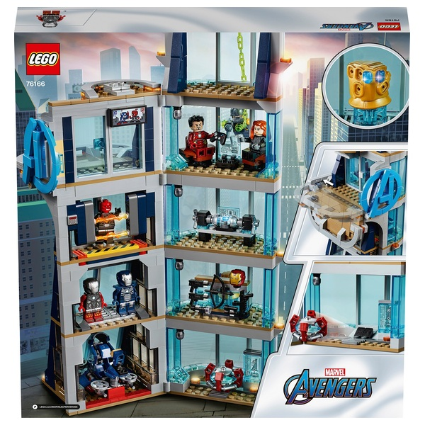 Roblox Tower Heroes Toys Lego 76166 Marvel Super Heroes Avengers Tower Battle Set Smyths Toys Ireland