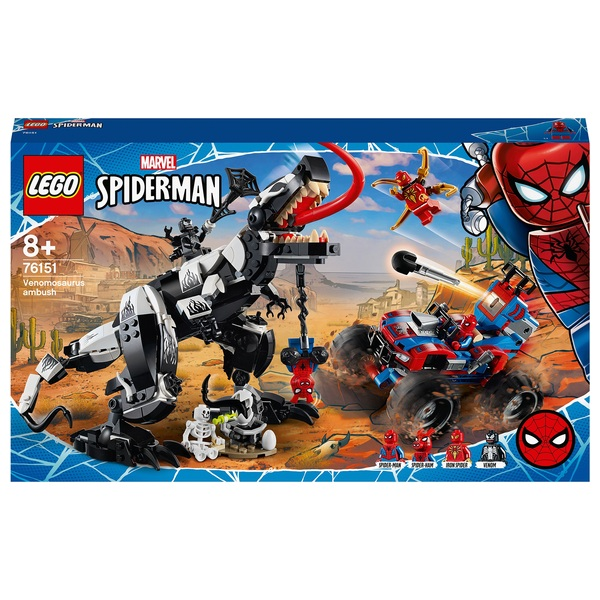 LEGO 76151 Marvel Spider-Man Venom Venomosaurus Ambush Set