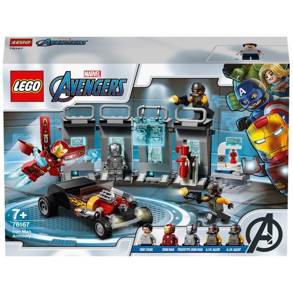 LEGO 76167 Marvel Super Heroes Avengers Iron Man Armoury Set