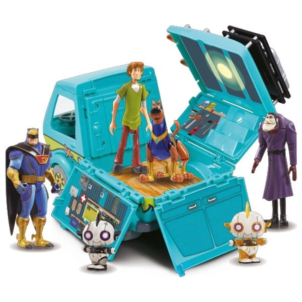 Scooby Doo Mystery Machine and 6 Figures