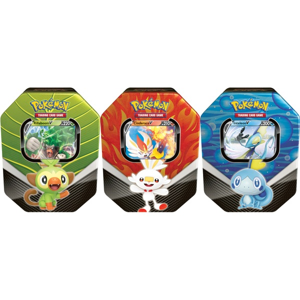 Pokémon Trading Card Game: Galar Partners Tin Assortment