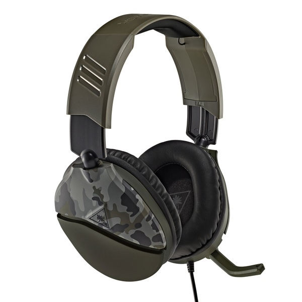 Turtle Beach Recon 70 Camo Green Gaming Headset for Xbox, PS4, Switch, PC