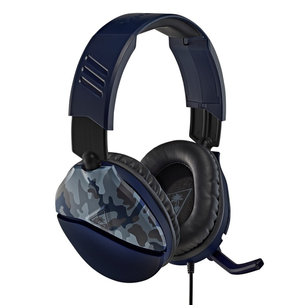 Turtle Beach Recon 70 Camo Blue Gaming Headset for Xbox, PS5, PS4, Switch, PC