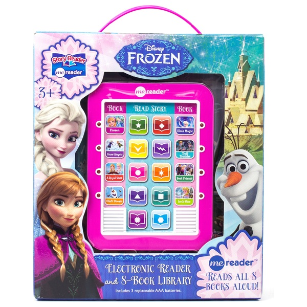Disney Frozen Electronic Me Reader and 8 Book Library