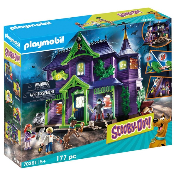 Playmobil 70361 Scooby Doo! Mystery Mansion