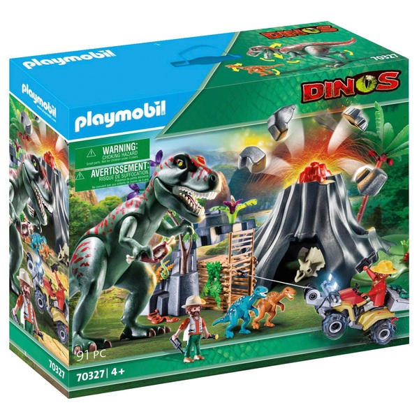 Playmobil 70327 Dinos Volcano Erruption