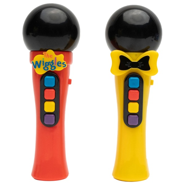The Wiggles Play By Colour Microphone Assortment