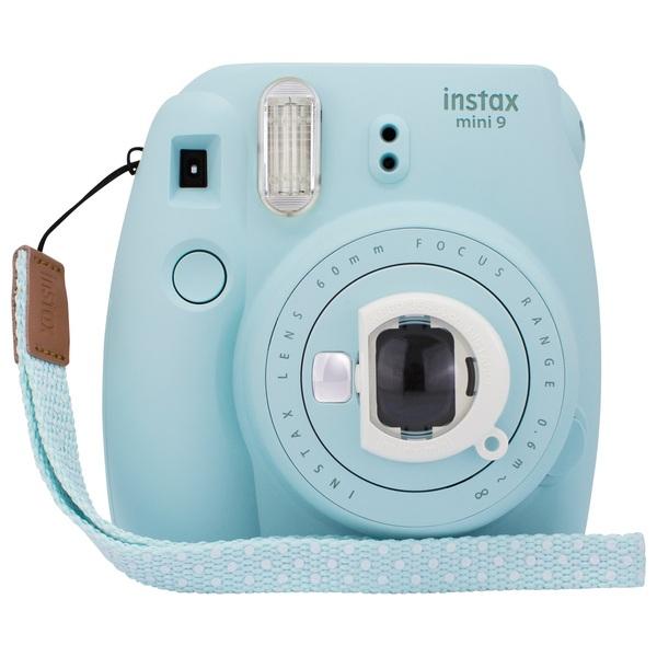 Fuji Instax Mini 9 Camera with 10 Film Shots - Ice Blue