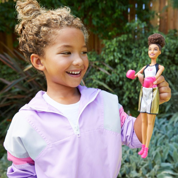 Barbie Sports Boxer Doll