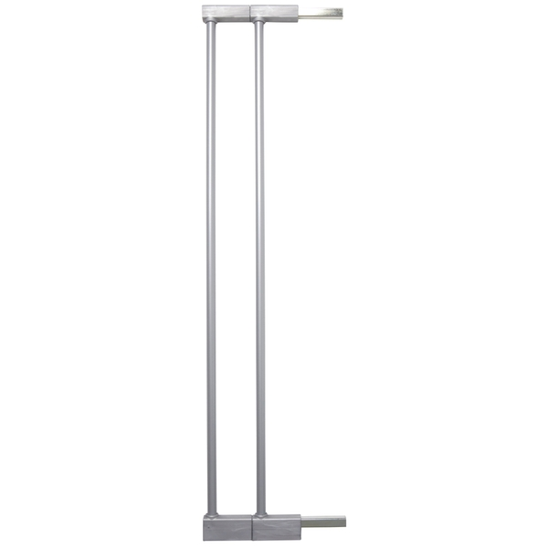 BabyDan Extend-A-Gate 2 Pack Silver Safety Gate Extension